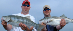 Striper Fishing On Lake Texoma With Dan Barnett