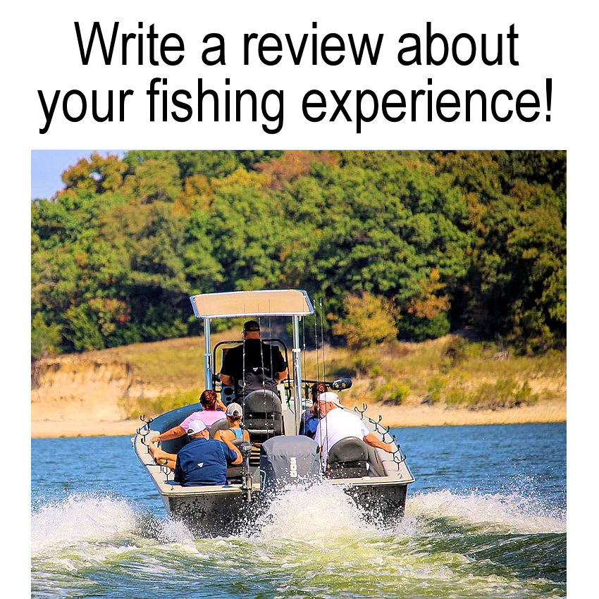 Write a Review about your experience with Dan Barnett & Jacob Orr Guaranteed Striper Fishing Guides